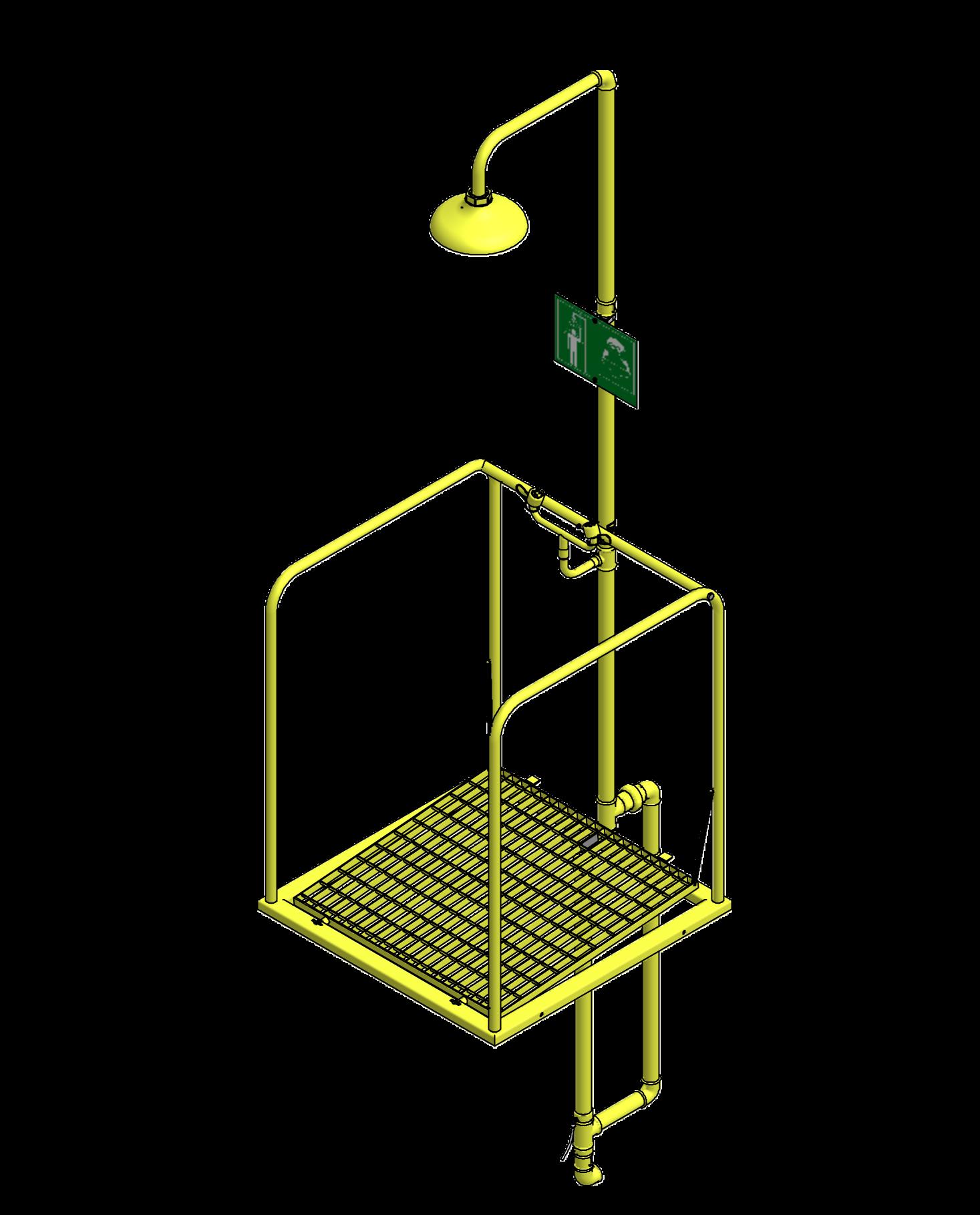 Combiné sur plate-forme incongelable activation simultanée