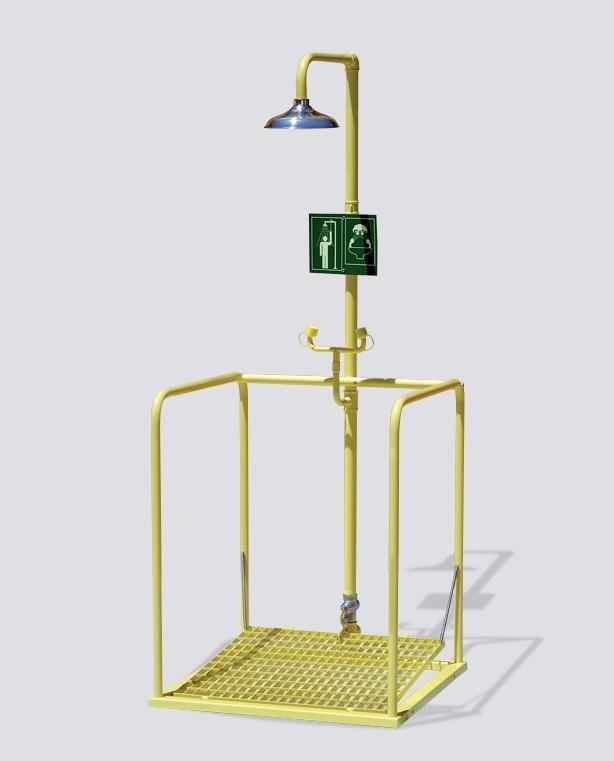 Combiné sur plate-forme activation simultanée - Pomme Inox