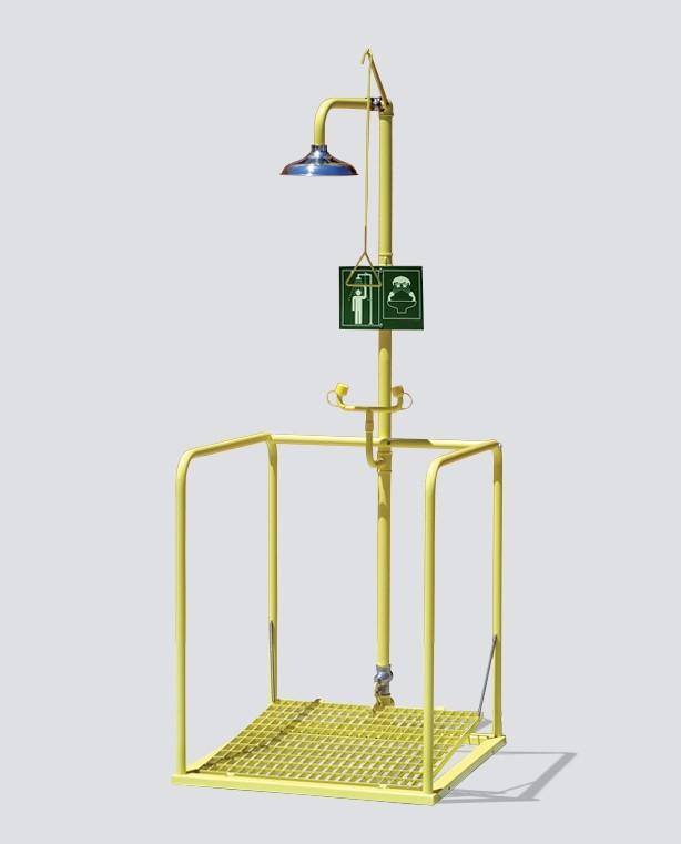Combiné sur plate-forme activation indépendante - Pomme Inox
