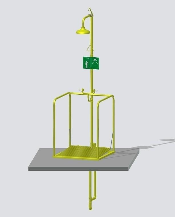 Combiné sur plate-forme incongelable activation indépendante