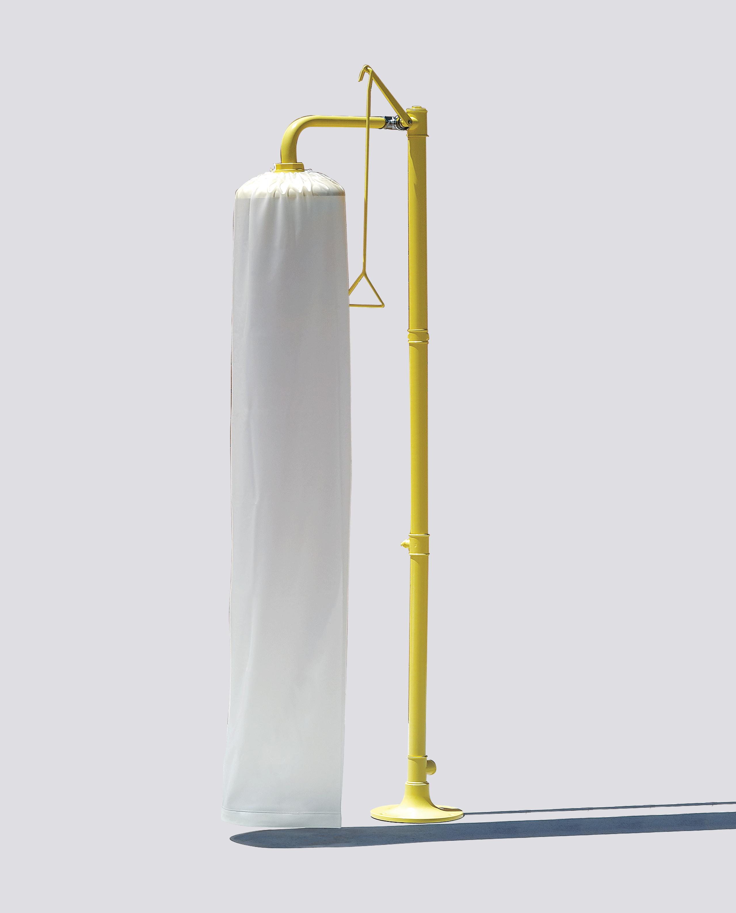 Test de débit pour douche