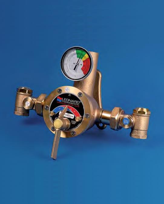 Mitigeur Thermostatique industriel Haut débit